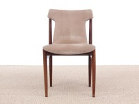Mid-century Modern set of 4 IK dining chairs in Rio rosewood by Inger Klingenberg