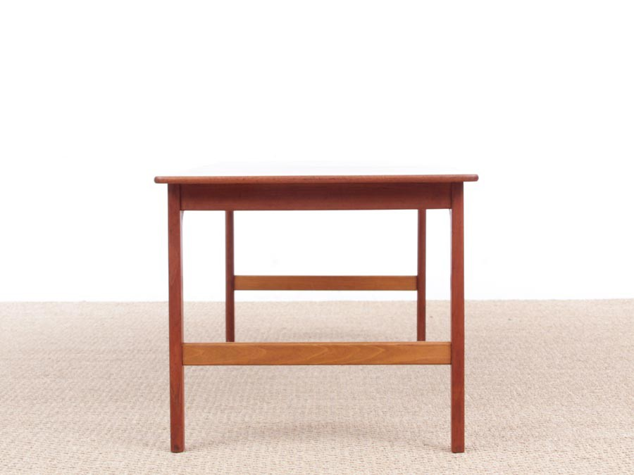 Mid-Century modern coffee table in solid teak by Yngvar ...