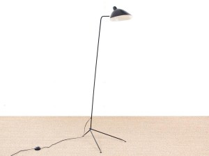 Standing lamp 1 arm by Serge Mouille, new edition