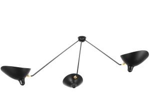 Wall sconce with rotating arms by Serge Mouille, new edition