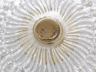 Mid century modern cristal ceiling light by Carl Fagerlund