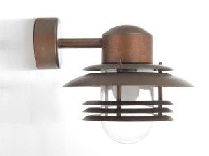 Mid century modern scandinavian out door wall lamp