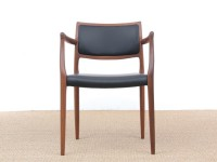 Mid-Century Modern Danish armchair model 65  by Niels Møller, new edition