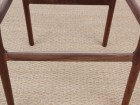 Mid-Century Modern danish barstool model 77 by Niels O. Møller, new edition