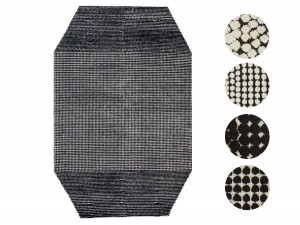 New scandinavian rug model Semis, by Ronan & Erwan Bouroullec for Kvadrat