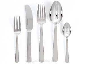 """Grand Prix"" cutlery in polished steel. New edition."