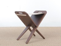 Mid-Century  modern scandinavian folding stool by Piet Hein, limited edition.