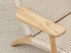 Mid-Century modern scandinavian arm chair in oak model CH 25 by Hans Wegner. New edition