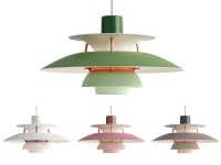 Mid-Century  modern scandinavian pendant lamp  PH 5 mini by Poul Henningsen for Louis Poulsen