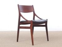 Set of 4 scandinavian chairs in rosewood by  H. Vestervig Eriksen