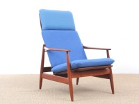 Mid-Century  modern scandinavian lounge chair by Poul Volther  model 341