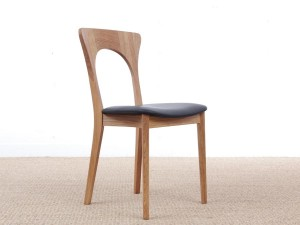 Mid-Century modern scandinavian dining chair model Peter by Niels Koefoed, new edition