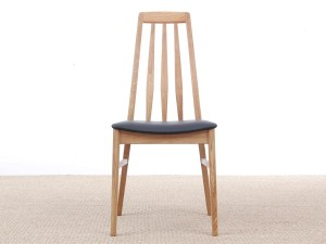 Mid-Century modern scandinavian dining chair model Eva by Niels Koefoed, new edition