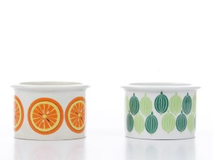 Set of 2 jam pots by Raija Uosikkinen for Arabia