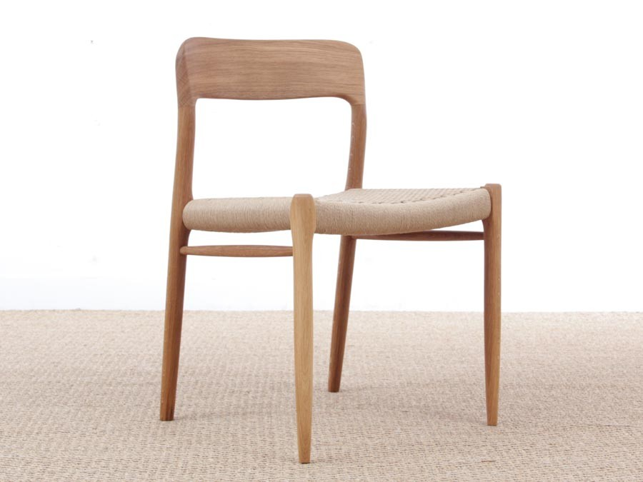 Mid Century Modern Danish Chair Model 75 By Niels O. Møller. New Production.