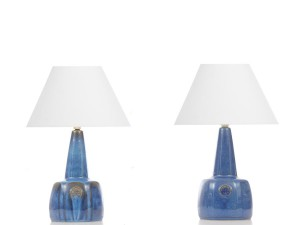 Mid-Century  modern scandinavian pair of lamp by Maria Philippi