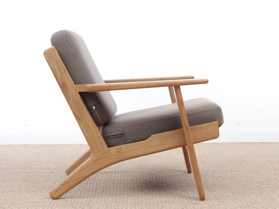 Amazing Mid Century Modern Armchair Model Ge 290 By Hans Wegner For Ocoug Best Dining Table And Chair Ideas Images Ocougorg