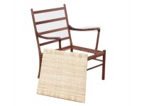 "Seat frame for ""Colonial Chair"" by Ole Wansher. Compatible for old and new editions."