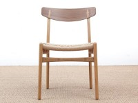 Mid-Century Modern CH 23 chair by Hans Wegner. New product.