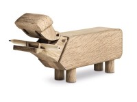 Kay Bojesen  wooden hippo, new edition.