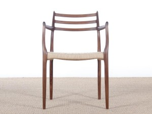 Mid-Century Modern danish armchair model 62 by Niels O. Møller. New production