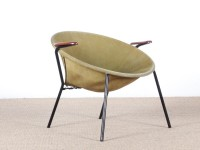 Mid-Century  modern scandinavian balloon chair by Hans Olsen