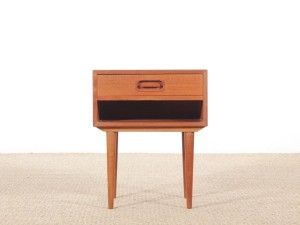 Mid-Century  modern scandinavian bed table by Dyrlund