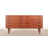 Mid-Century  modern scandinavian chest of drawers by Dyrlund