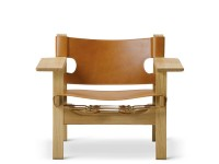 Spanish Easy Chair 2226 by Borge Mogensen. New edition.