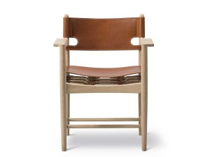 Spanish Dining armchair model 3238 by Borge Mogensen, New edition.