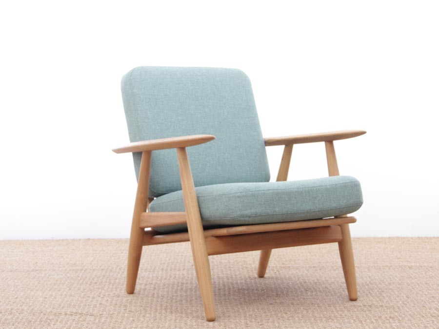 mid century modern armchair model cigar ge 240 by hans wegner for ama new release 2963