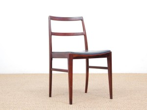 Mid-Century  modern scandinavian set of 4 chairs by Arne Vodder model 430 in rosewood