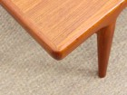 Mid-Century  modern scandinavian coffe table in teak by Johannes Andersen