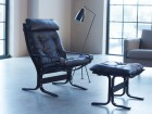 Mid modern century Siesta Classic armchair, hight back by Ingmar Relling. New edition.