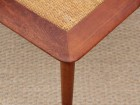 Mid-Century  modern scandinavian angle coffee table by Peter Hvidt