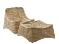 Chill Lounge Chair and Ottoman  by Nanna Ditzel. New edition