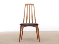 Mid-Century Modern Danish set of 6 chairs in teak model Eva by Niels Kofoed