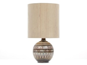 Mid-Century  modern  large ceramic lamp