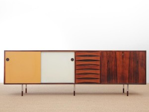 Mid-Century  modern scandinavian sideboard model 29A by Arne Vodder