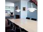 Mid-Century  modern scandinavian pendant lamp PH  4½-4  by Poul Henningsen for Louis Poulsen