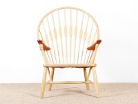 Mid-Century Modern PP550 Peacock chair by Hans Wegner. New product.