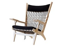 Mid-Century Modern PP129 Web chair by Hans Wegner. New product.