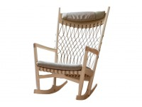 Mid-Century Modern PP124 Rocking chair by Hans Wegner. New product.