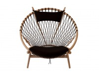 Mid-Century Modern PP130 Circle chair by Hans Wegner. New product.
