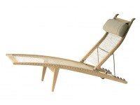 Mid-Century Modern PP524 Deck chair by Hans Wegner. New product.