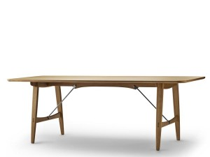 "Mid-Century modern scandinavian dining table model BM1160 ""Hunting table"" by Børge Mogensen."
