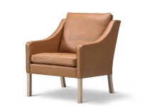 Club chair model 2207 by Borge Mogensen for Fredericia. New edition.