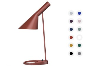 Mid-Century  modern scandinavian table lamp AJ MINI, 12 colors by Arne Jacobsen for Louis Poulsen.