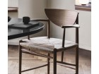 Drawn Armchair HM4 or model 317 by Hvidt and Mølgaard. New edition