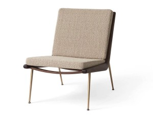 Boomerang lounge chair HM1 by Hvidt and Mølgaard. New edition